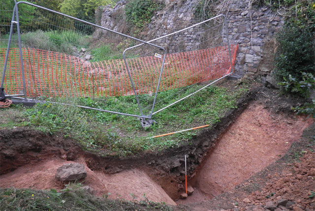 archaeological excavation at brandon hill in bristol