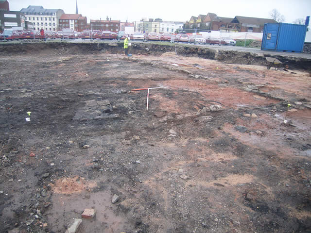 archaeological excavation works at the site of wapping wharf in bristol