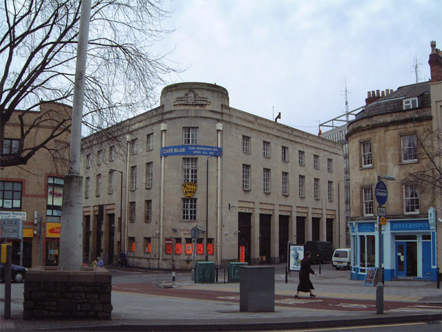 the old fire station at bridewell bristol