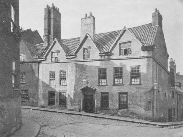 No. 9 Pipe Lane Bristol in 1903